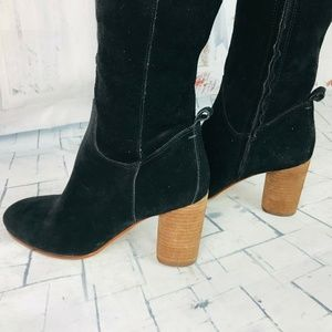 Sam Edelman Shoes - Sam Edelman Camellia Suede Knee Hight Sz 6 NWOB